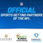 三大博彩運營商與NFL簽協議成為體育博彩官方合作夥伴